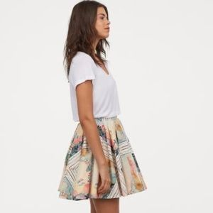 ISO HM 2019 Circle Skirt with French Print